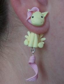 MLP - Fluttershy fülbevaló