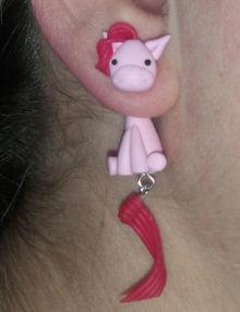 MLP - Pinkie Pie fülbevaló